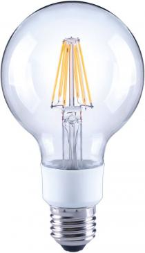 10101813 G80 FILAMENT LED E27, G80, 2700K, 7 WATT 810 LM KLAR, DIMMBAR ARTEKO