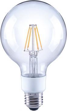 10101814 G95 FILAMENT LED E27, G95, 2700K, 4,5 WATT 470 LM KLAR, DIMMBAR ARTEKO