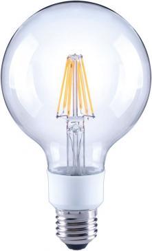 10101815 G95 FILAMENT LED E27, G95, 2700K, 7 WATT 810 LM KLAR, DIMMBAR ARTEKO