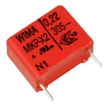 MKX2AW32204H00KSSD 0,22UF305V MKP X2-FOLIENKONDENSATOR, RM=15MM, 220NF -ROHS- WIMA