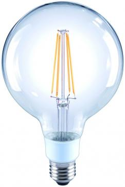 10101816 G120 FILAMENT LED E27, G120, 2700K, 4,5 WATT 470 LM KLAR, DIMMBAR ARTEKO