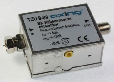 TZU00900 TZU900 KABELENTZERRER EINSTELLBAR 0-18DB 5-862 MHZ AXING
