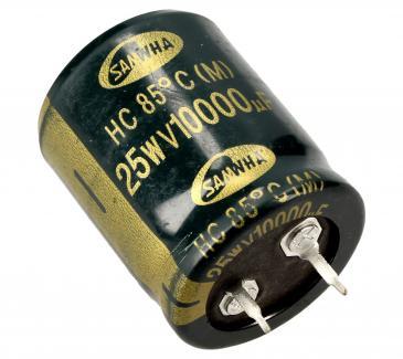 10000uF | 25V Kondensator elektrolityczny 30mm/25mm