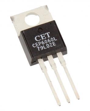 CEP6060R Tranzystor TO-220 (N-channel) 60V 60A