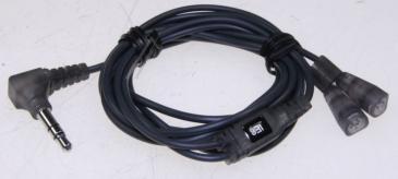 Kabel 1.2m JACK 3.5mm stereo - Słuchawki (wtyk/ IE8 wtyk) 525719