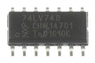 74LV74D,112PHI 74LV,SMD,74LV74,SOIC14,3,3V TYP:74LV74D,112-PHI