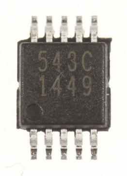 CS5343CZZ IC 24BIT ADC, SMD TSSOP-10 (WOLFSON)