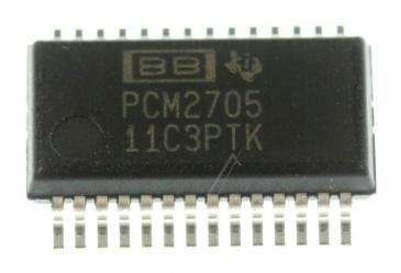 PCM2705DB IC 16-BIT DAC, SMD SSOP-28 (BURR-BROWN)