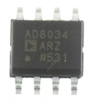 AD8034ARZ AD8034 IC OPERATIONSVERSTÄRKER, SMD SOIC-8 ANALOG DEVICES