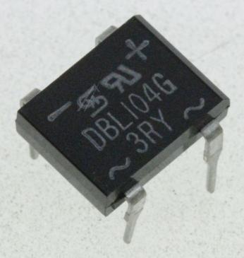 DBL104G BRÜCKENGLEICHRICHTER, 1A, 400V
