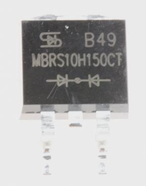 MBRS10H150CT RN Dioda Schottkiego 200V | 10A (D2PAK-3)