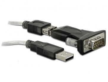 Kabel COM 9 pin - USB (wtyk/ A wtyk) 61425