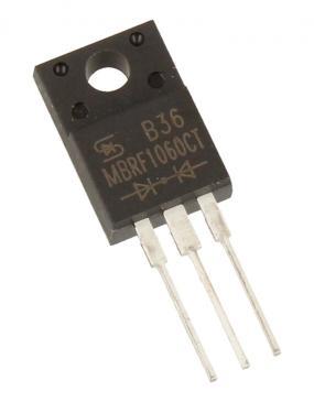 MBRF1060CT Dioda Schottkiego MULTICOMP 60V | 10A (TO-220-3)