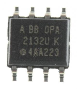 OPA2132UA 2132U IC OPERATIONSVERSTÄRKER, SMD SOIC-8 (BURR-BROWN) TEXAS-INSTRUMENTS