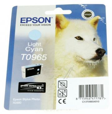 C13T09654010 T09654010 TINTENPATRONE, LIGHT CYAN, 11,4ML EPSON