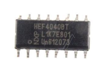 HEF4040BT,652 IC 4040 LOCMOS, SMD SOIC-16 NXP