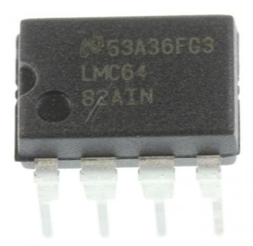 LMC6482AINNOPB LMC64 IC OPERATIONSVERSTÄRKER, DIP-8 TEXAS-INSTRUMENTS
