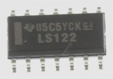 SN74LS122D IC, SM, LOGIC, 74LS, MULTIVIBRATOR TYP:SN74LS122D