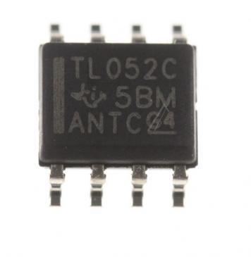 TL052CD TL052C IC OPERATIONSVERSTÄRKER, SMD SOIC-8 TEXAS-INSTRUMENTS
