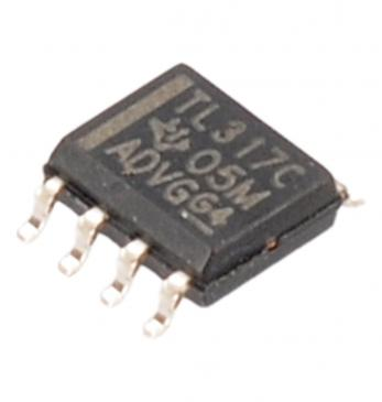 TI TL317CD V REG ADJ +1.2/37V,SMD,SOIC8,317 TYP:TL317CD