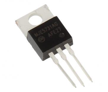MJE5731AG MJE5731AG Tranzystor TO-220AB (PNP) 375V 1A 10MHz