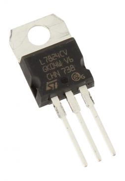 L7824CV v reg +24v,7824,to220-3 typ:l7824cv STMICROELECTRONICS
