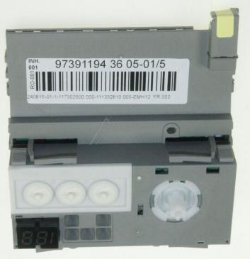 Moduł sterujący (w obudowie) skonfigurowany do zmywarki 973911943605015