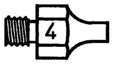T0051351499 DS114 SAUGDÜSE 1,8MM-3,3MM LÄNGE 18MM WELLER
