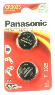 CR2025L2BP Bateria 2B370570 3V Panasonic (1szt.)