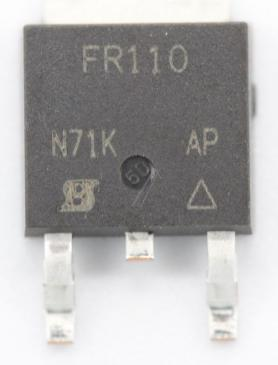 IRFR110 Tranzystor TO-252 (n-channel) 100V 4.3A 6.2MHz