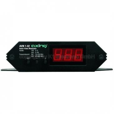 AVM00102 MONO-AV MODULATOR,VHF/UHF AXING