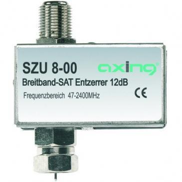 SZU800 12DB BREITBAND-ENTZERRER MIT DC-DURCHLASS AXING