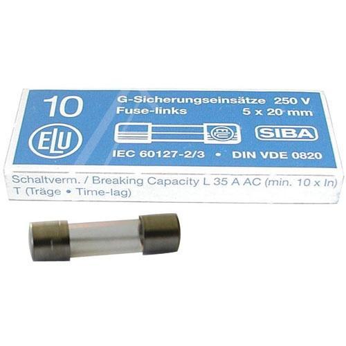 0.032A Bezpiecznik zwłoczny (20mm/5mm),0