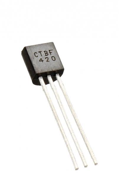 BF420 Tranzystor TO-92 (npn) 300V 50mA 100MHz,0