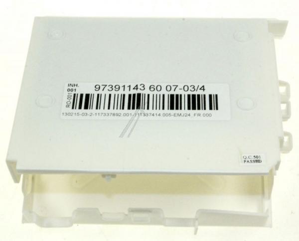 Moduł sterujący (w obudowie) skonfigurowany do zmywarki 973911436007034,0