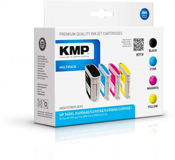Multipack | Zestaw tuszy BK,C,M,Y do drukarki  H71V,0