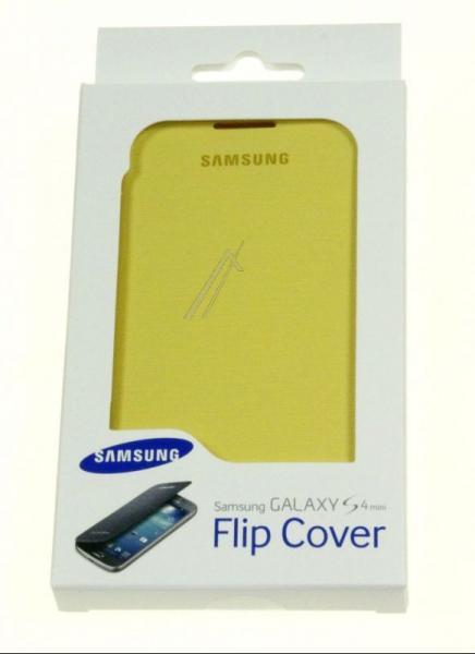Pokrowiec   Etui Flip Cover do smartfona Samsung Galaxy S4 Mini EFFI919BYEGWW (żółte),0