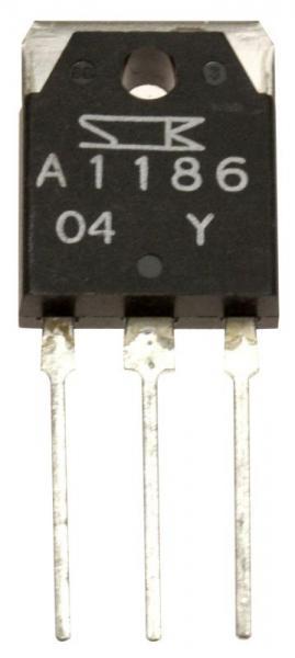 2SA1186 Tranzystor TO3-P (pnp) 150V 10A 60MHz,0