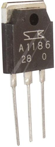 2SA1186 Tranzystor TO3-P (pnp) 150V 10A 60MHz,1