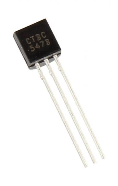 BC547B Tranzystor TO-92 (npn) 45V 0.1A 100MHz,0