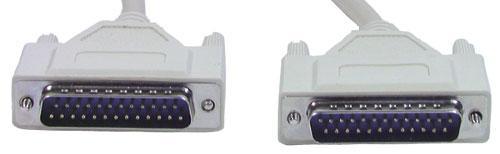 Kabel LPT 25 pin 3m (wtyk/ wtyk) standard,0