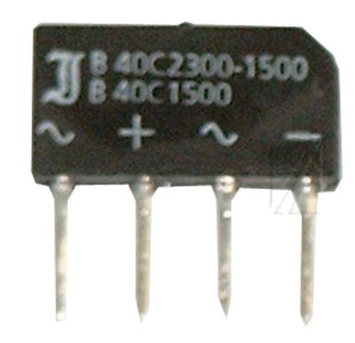 B40C1500-1000 Mostek prostowniczy 40V 1.5A SO33/205,0