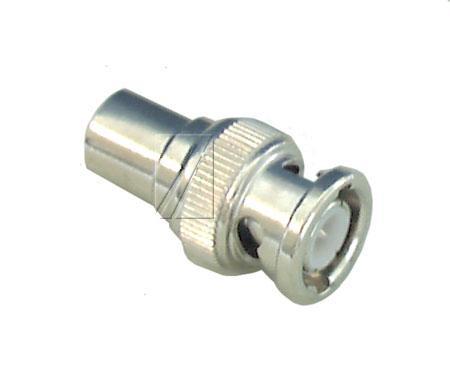 Adapter BNC - COAX (wtyk/ wtyk),0