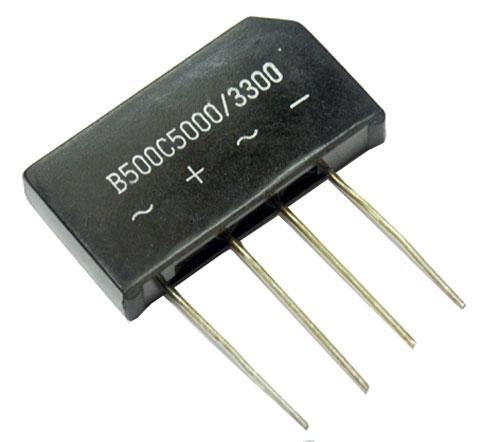 B500C5000-3300 Mostek prostowniczy 300V 5A SO33/205,0