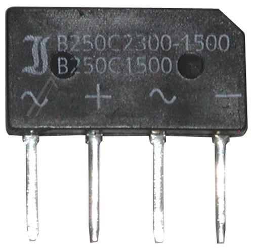 B250C1500-1000 Mostek prostowniczy 250V 1.5A SO33/205,0