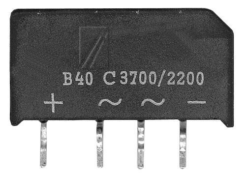 B40C3700-2200 Mostek prostowniczy 40V 3.7A SO33/205,0
