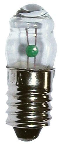 Żarówka E10 1.11W z soczewką,0