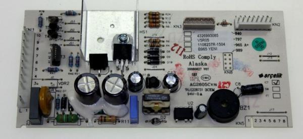 4326993085 CONTROL BOARD ASSY(B965_YENI GORUNUS ARCELIK,0