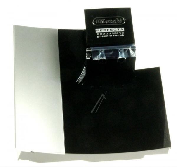 7313227041 DOOR SILV-MR&BLACK+GLASS  ESAM5700 (DLS) DE LONGHI - KENWOOD,0