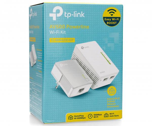 Transmiter | Adapter Powerline zestaw TP-Link TLWPA4220KIT,0